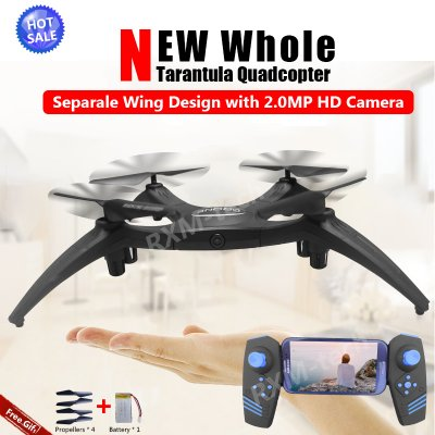 RXMSM966HC Rc Selfie Drone with Wifi FPV 2.0MP HD Camera Altitude Hold Headless Mode RC Quadcopter Drone