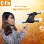 JJRC H37 RC Helicopter ELFIE Foldable Mini RC Selfie Drone