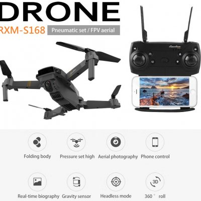 New Wifi FPV Foldable Quadcopter RXM_S168