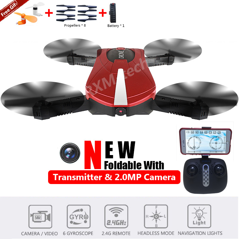 JY018 Pocket Drone Red with logo14.jpg