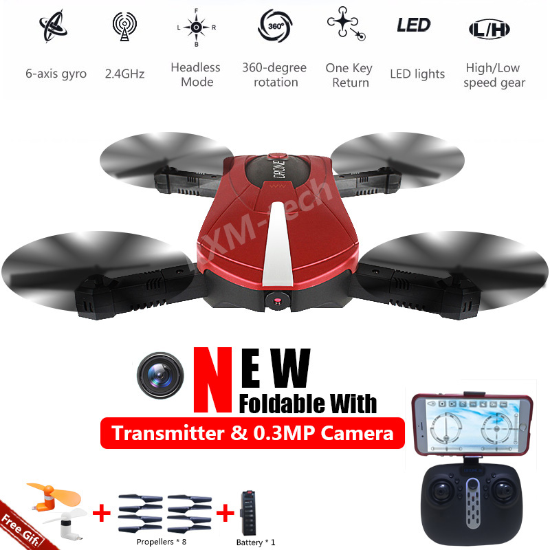 JY018 Pocket Drone Red with logo21.jpg